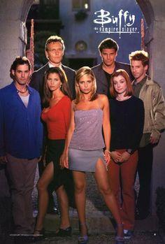 Buffy The Vampire Slayer (TV) 27 x 40 TV Poster - Style E postersdepeliculas http://www.amazon.com/dp/B000OL5R6M/ref=cm_sw_r_pi_dp_V60axb13FFJ14