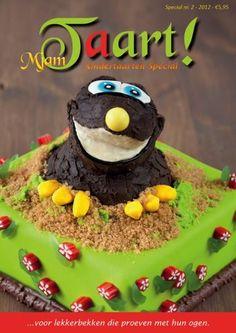 Mjam Taart! is een Nederlands kwartaalmagazine waarin uiteenlopende ideeën en tutorials voor het maken van koekjes, cupcakes en taarten worden getoond.  Het blad puilt uit van de mooie foto's, duidelijke handleidingen en stap voor stap instructies + werkbladen!    In deze 83 pagina's tellende kindertaarten special doe je boordevol veel inspiratie op voor de meest indrukwekkende traktaties voor kinderen. Nu te koop op www.teitloos.nl