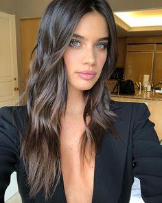 "15.1k Likes, 209 Comments - Danielle Priano (@daniellepriano) on Instagram: ""Tonight's glam on @sarasampaio 💄 @lucacianciolo #hairbydaniellepriano 💸💸💸"""