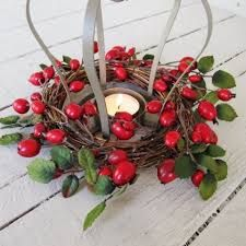 This rose hip piece would look great on any patio!