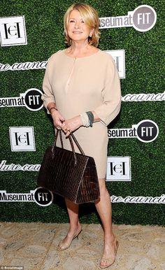 Put together: Martha, seen September 3 at the Couture Council Awards Annual Benefit Lunche...