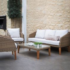 Ambersham Rattan Outdoor or Indoor Furniture – Allissias Attic & Vintage French Style