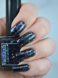 Punked Full Size Hand Blended Nail Lacquer by FirecrackerLacquer