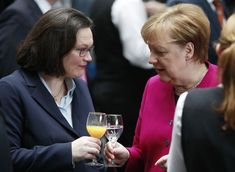 Angela Merkel has enjoyed a relatively painless start to her fourth term in office. That could be about to change with the German leader's Social Democrat coalition partners poised to elect a combative one-time party rebel as their leader. Germany, Meet, Angela Merkel, Politicians, Deutsch