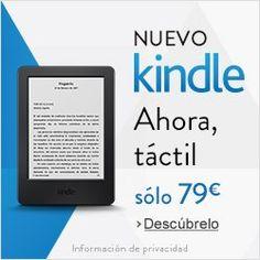 Nuevo Kindle táctil por solo 79€.