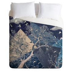Belle13 To The Sky Duvet Cover | DENY Designs Home Accessories