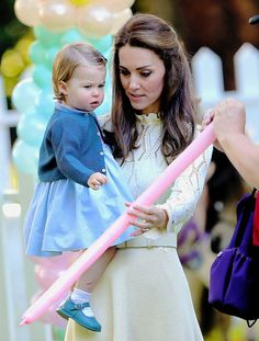 Duchess Kate and Princess Charlotte