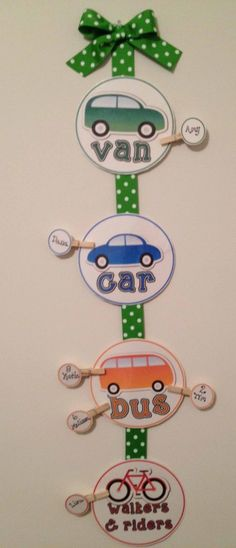 How do you get home? (Transportation Display) - The Lesson Plan Diva - TeachersPayTeachers.com