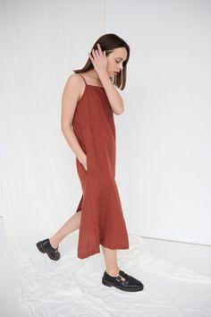AURORA DRESS - Linenfox