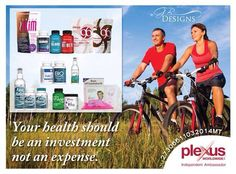 The plexus products have allowed me to ride over 1000 miles last year! Elinda.myplexusproducts.com