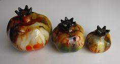 #Handmade #ceramic #decorative #pomegranates #onebay #multicolor