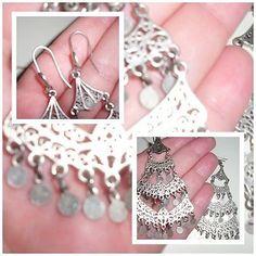 Damen #Ohrringe - #Modeschmuck Hängerchen/Silber - mutet alt an | #eBay