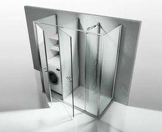 Bagno piccolo con lavatrice decor pinterest laundry interiors