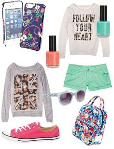 """""""How To Stay Cool In Middle School"""" by andrea-bestfriendsforever on Polyvore"""