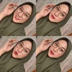 Modest Fashion Hijab, Casual Hijab Outfit, Ootd Hijab, Girl Hijab, Ootd Fashion, Cute Girl Face, Couple Aesthetic, Beautiful Hijab, Ulzzang Girl