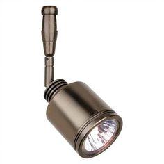 LBL Lighting Rev Swivel 1 Light Track Head Finish: