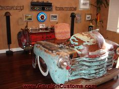 Sweet Chevy Truck Desk
