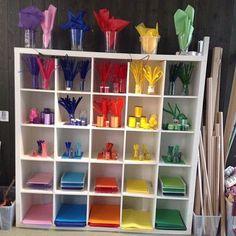 Nypiffad del ateljé! #förskola #inspiration #lärmiljöer #ateljé #skapande #tilltalande #kindergarten #preschool #reggioemilia
