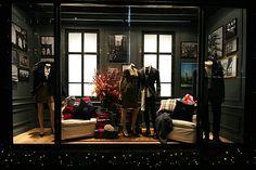 GANT Christmas Shop Windows London!