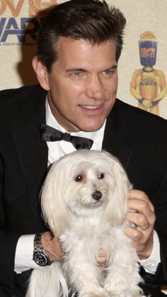 Chris Isaak with Rodney Chris Isaak, Celebs, Celebrities, A Good Man, Pin Up, Singer, Paw Prints, Puppys, Poodles