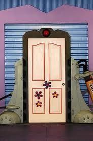 monsters inc boo door - Google Search