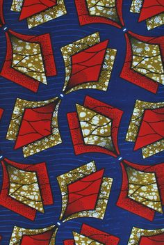 African wax block print fabric African Fabric House