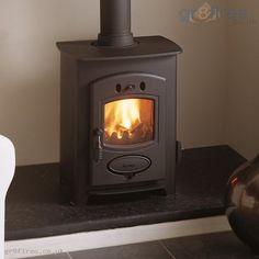 Small wood-burner for living room fireplace Small Fireplace, Stove Fireplace, Bedroom Fireplace, Tiny Wood Stove, Small Wood Stoves, Best Wood Burning Stove, Stove Heater, Pellet Stove, Living Room Wood Floor