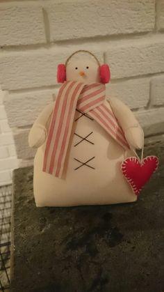 Snowman Tilda style