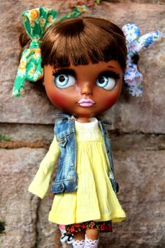 custom Blythe doll by AmoLas. facebook photo sharing  ~  You Can Do It 2. http://www.zazzle.com/posters?rf=238594074174686702