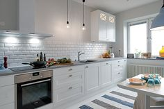 Chic Swedish apartment interiors in Johanneberg