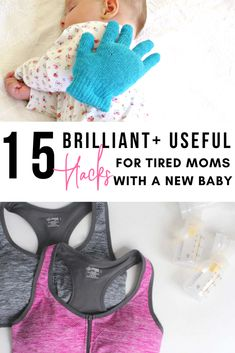 ALL of these are THE BEST HACKS and clever ideas for new mamas!! Why didn't I know any of this?!! #hacks #momhacks #momboss
