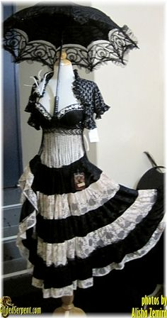 steampunk belly dance costume
