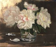 Oil on linen,by Brigitte Cazenave  My daily painting