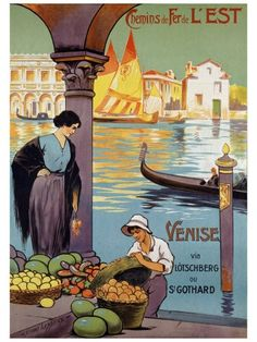 Vintage Travel Posters, Travel (Vintage Art) Prints and | http://travelling-images.blogspot.com