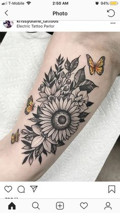 Manches tatouages ​​tournesols # manches # tatouages ​​# tournesols & Ärmel tätowierungen s . Badass Sleeve Tattoos, Tattoos For Women Half Sleeve, Shoulder Tattoos For Women, Full Sleeve Tattoos, Sunflower Tattoo Sleeve, Sunflower Tattoo Shoulder, Sunflower Tattoos, Sunflower Tattoo Design, Hand Tattoos