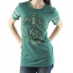 Slytherin Crest Tee – Harry #Potter #Fanart