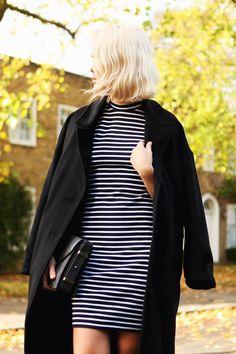 Al más estilo marinero. Combínalo con un abrigo largo, o una blazer en color oscuro y liso para estilizar tu silueta.   Silvia Foz_Imagen Personal & Corporativa www.silviafoz.com