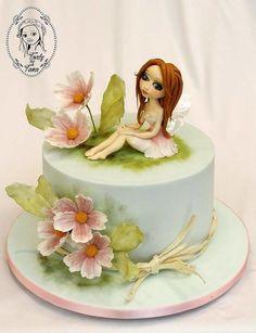 dreamy fairy - Cake by grasie