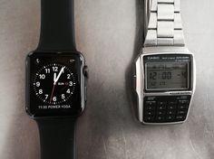 Smartwatch 2015 vs 1985
