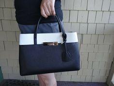 Kate Spade Hand Bag- Maiden Way Saffiano- Color Block #Ad , #Ad, #Hand#Bag#Kate
