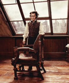 Johnny in Sweeny Todd...I actually liked the singing.  Helena Bonham Carter was excellent.