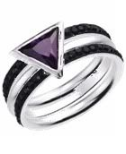 This is perfection. Awesome twist on the black ring many aces wear on their right middle finger