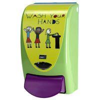 Deb Stoko® Kids Wash your Hands Seifenspender, grünhygi.