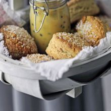 Sugared scones