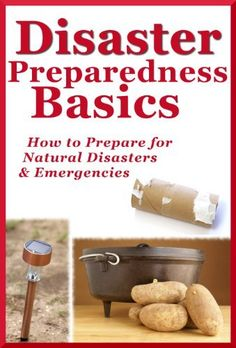 Free for now - Disaster Preparedness Basics: How to Prepare for Natural Disasters and Emergencies by Kathy Burns-Millyard.