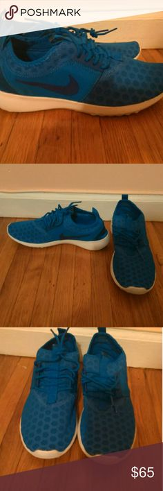 Nike Juvenate Blue Sneakers Good as new . In perfect condition Nike Shoes Sneakers