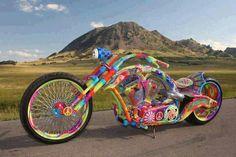 bike in kleur