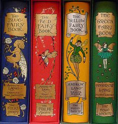 used to love these....The Color Fairy Books by Andrew Lang