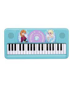 Another great find on #zulily! Frozen Anna & Elsa Keyboard #zulilyfinds