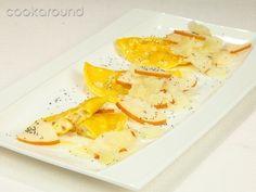 Ravioli di pera con scaglie di pecorino: Ricette di Cookaround | Cookaround